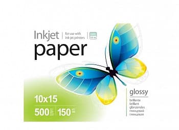 Фотобумага PGE2005004R PrintPro Photo paper glossy 200g/m, 10x15, 500pc.