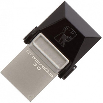 Флэш-диск Kingston 16 Gb DT MicroDuo USB 3.0 + microUSB (Android/OTG)