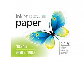 Фотобумага PGE1505004R PrintPro Photo paper glossy 150g/m, 10x15, 500pc.