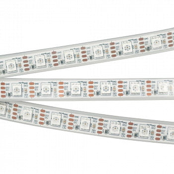 Лента SPI-5000P-RAM 12V RGB (5060, 60 LED/m, x1, AM)