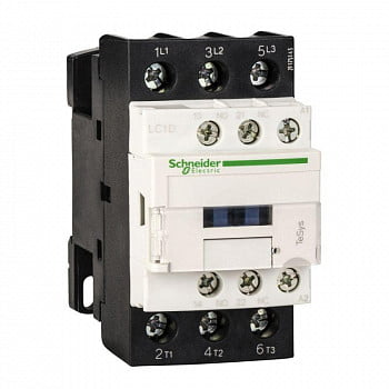 Контактор 3п 25А НО+Н3 230В Schneider Electric LC1D25P7